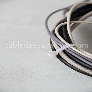 CABLE TIES 4,8 X 200 WHITE